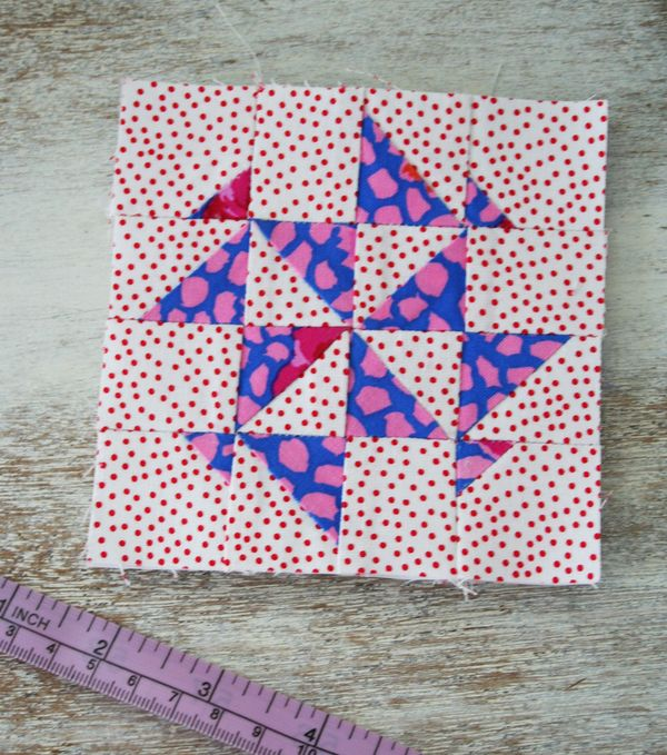 Dear jane quilt block