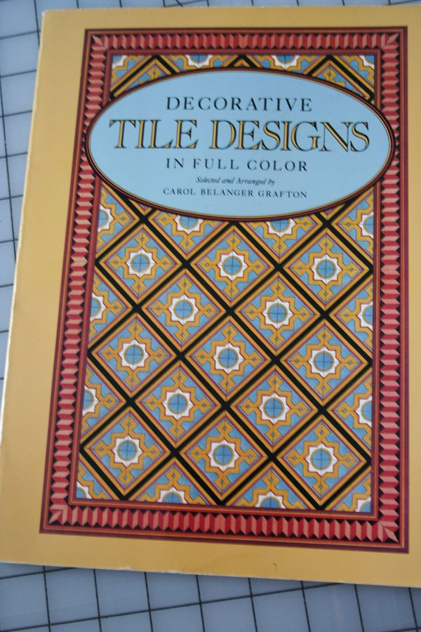 Tile design idea book