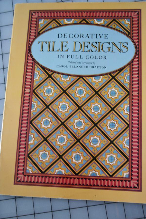 Tile design idea book