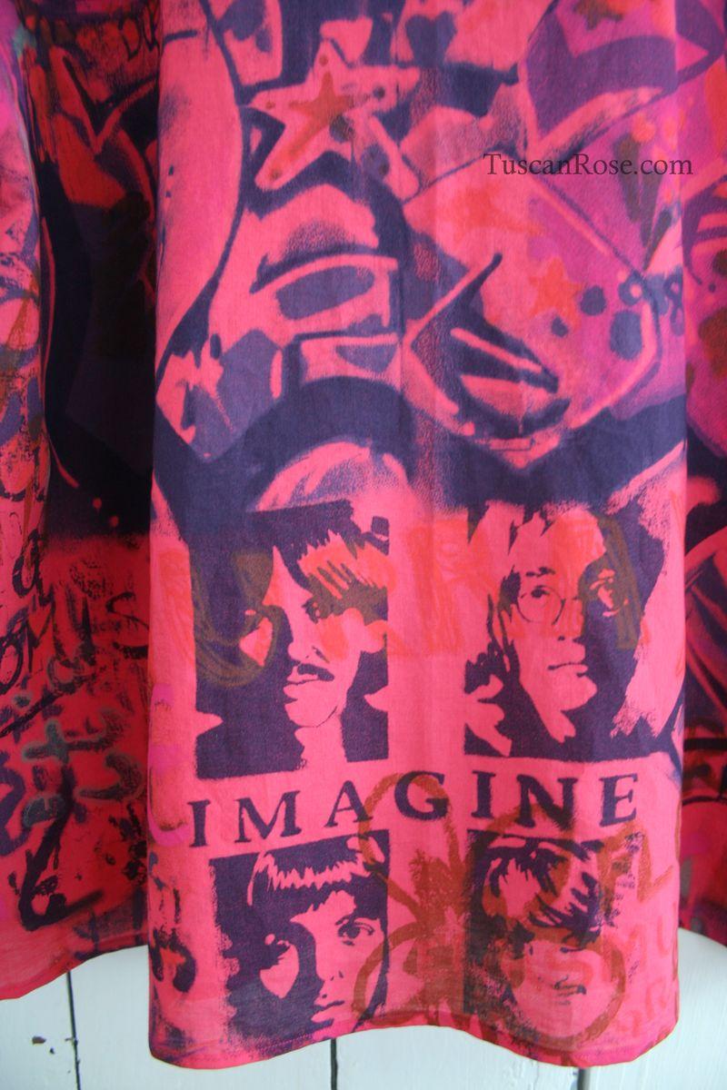 Graffiti blouse vogue 8119 imagine (1)