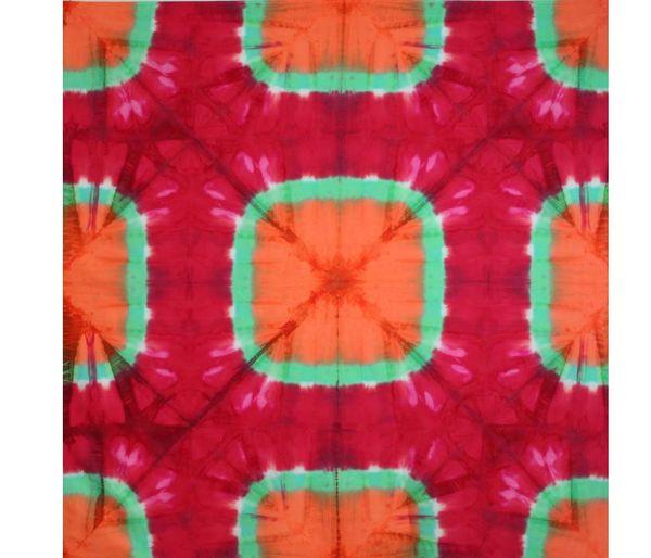 Pella Modern Shibori Tuscan Rose Fabric