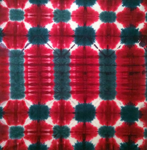 Tuesdays modern shibori tuscan rose (1)