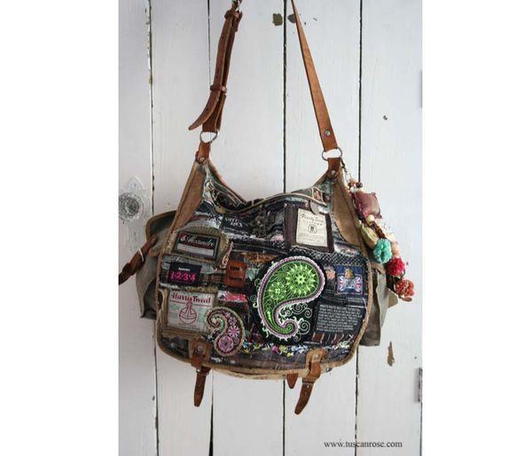 Pugs paisleys and the ramones bag wb