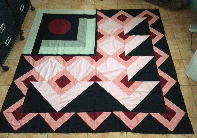 1984 called quilt top modern quilting